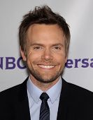 LOS ANGELES - AUG 11:  JOEL McHALE arriving to Summer TCA Party 2011 - NBC  on August 11, 2011 in Beverly Hills, CA