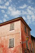 Red Building In Caorle