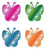 Glittering Butterflies