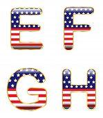 Patriotic EFGH