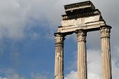 Surviving Columns Of The Temple Of Castor And Pollux