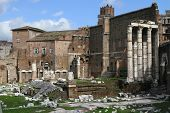 The Imperial Fora (fori Imperiali In Italian)