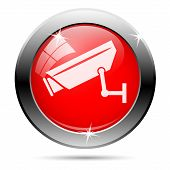 Surveillance Video Camera Icon