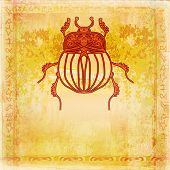 Golden Scarab Background
