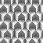 Cubes Metal Background