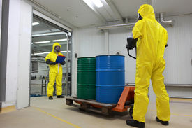 picture of toxic substance  - toxic substance delivering  - JPG