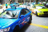 Singapore Taxi Cab
