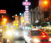 Yaowarat Road At Night