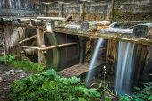 Wooden Mill Outside
