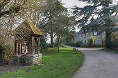 foto of english cottage garden  - The tiny village of Hidcote Bartrim near Hidcote Gardens - JPG