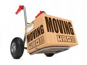 picture of hand truck  - Moving  - JPG