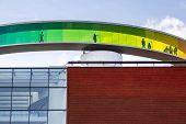 Circular Panoramic Roof Of The Art Museum, Aarhus