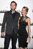 LOS ANGELES - DEC 5:  Joel David Moore, Ellen Michelle Monohan at the 2nd Annual Saving Innocence Ga