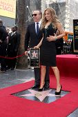 LOS ANGELES - DEC 5:  Tommy Mottola, Thalia at the Thalia Hollywood Walk of Fame Star Ceremony at W