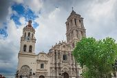 stock photo of neo-classic  - This is the very lovely Catedral de Santiago - JPG