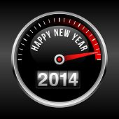 appy New Year 2014 Dashboard Background