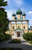 picture of uglich  - Cathedra templel in Uglich outdoor shot day light - JPG