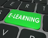 E-Learning Computer Keyboard Key Online Education