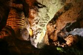 image of carlsbad caverns  - A Cave of Color Carlsbad Caverns National Park New Mexico - JPG