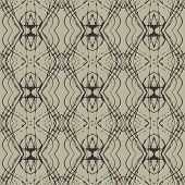 Elegant linear pattern with lacing ornament