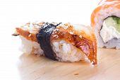 Sushi With Blackhead