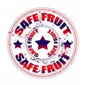 Safe Fruit Stamp