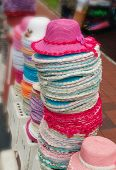 picture of malacca  - Photo of Hats on Street Market - JPG