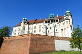 Wawel Royal Castle In Krakow, Poland