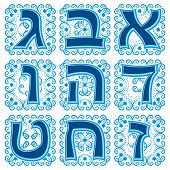 hebrew abc. Part 1