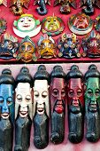 Painted Wooden Masks