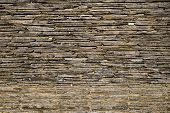 Slice Of Stone Paved Wall