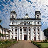 Old Goa. Saint Cajetan church