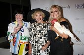 LOS ANGELES - MAY 14:  Jo Anne Worley, Ruta Lee, Catherine Hickland at the