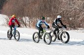 2014 Penn Cycle Fat Tire Loppet - Three Bikers On Course