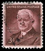 George Eastman Us Postage Stamp