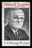 Harry S Truman Us Postage Stamp