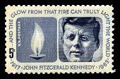 John F Kennedy Us Postage Stamp