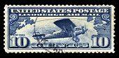 Charles Lindbergh Tribute Us Postage Stamp