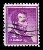 Abraham Lincoln Us Postage Stamp