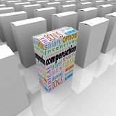 Compensation total package words box competing employers generous benefits
