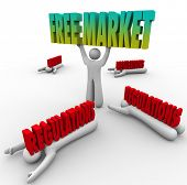 Free Market business government interference regulations