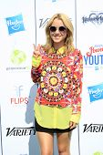 LOS ANGELES - JUL 27:  Taylor Spreitler at the Variety's Power of Youth  at Universal Studios Backlo