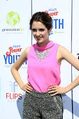 LOS ANGELES - JUL 27:  Laura Marano at the Variety's Power of Youth  at Universal Studios Backlot on
