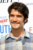 LOS ANGELES - JUL 27:  Tyler Posey at the Variety's Power of Youth  at Universal Studios Backlot on