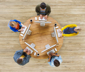 image of social system  - Group of People Social Networking Communication - JPG