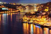 Porto in the night