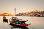 Boats in the Porto
