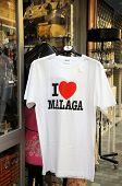 I love Malaga tee-shirt.