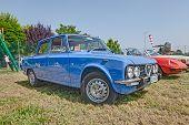 Vintage Car Alfa Romeo Giulia Nuova Super 1300