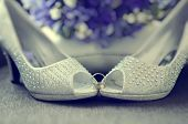 Beaded Bride Shoes